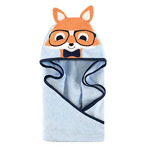 animal face hooded towel