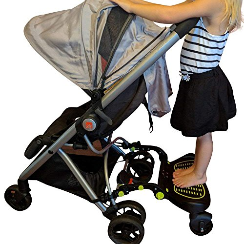 Stroller Glider Board For Kids Up To 70 LBS Fits 95% of Stroller Models Unique Universal Latching Setup Allows You To Install the Glide Board onto Stroller in Minutes from WHYSgiving