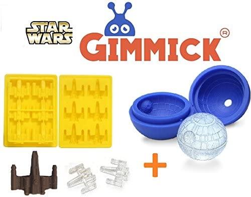 Star Wars - bandeja de cubitos de hielo (Darth Vader, han solo, R2 ...