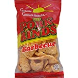 Fried Pork Rinds BBQ 6 bags (1.75oz)