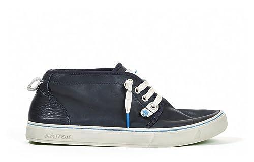 Satorisan - Zapatos de Cordones de Piel para Mujer Azul Turquesa Azul Size: 38: Amazon.es: Zapatos y complementos