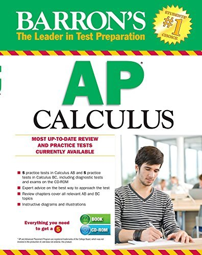 Barron's AP Calculus with CD-ROM, 13th Edition (Barron's AP Calculus (W/CD)) by Bock M.S., David, Donovan M.S., Dennis, Hockett M.A., Shirley O. (February 1, 2015) Paperback