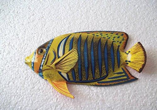 Tropical Fish Wall Plaque (Tropical Fish Wall Plaque Tiki Bar Beach Nautical Size 6