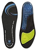 Sof Sole Women's Airr Full Length Performance Gel Shoe Insole, Women's Size 5-7.5 Black