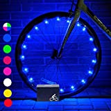Party Favor Toys for KidsDMbaby Water Resistant LED Bike Wheel Spoke Light Outdoor Cool Popular Gifts for 3-12 Year Old Boys Girls 2018 DMUKBL02