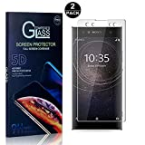 Sony Xperia XA2 Ultra Screen Protector, Bear Village® Tempered Glass Screen Protector [Lifetime Warranty], HD Screen Protector Glass for Sony Xperia XA2 Ultra - 2 PACK
