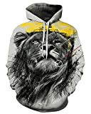 Product review for Chiclook Cool Chic 3D Sweatshirt Sweater Hooded Men Wolf Printed Hoodies Design Pullover Streetwear Clothes