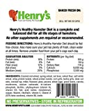 Henry's Hamster Food - The Only All Natural Baked
