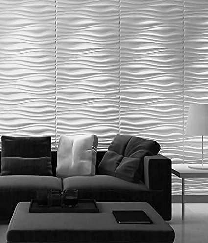 7b2a7549de Panel Decorativo 3D INREDA para paredes interiores, 100% ecológico  fabricado con bambú, 6