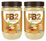 Bell Plantation PB2 Powdered Peanut Butter, 1 lb Jar (2-pack)