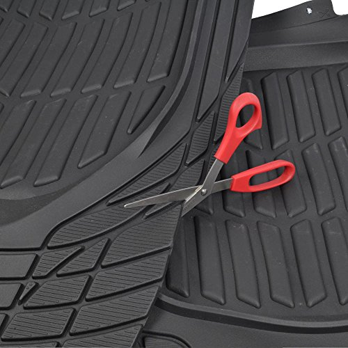 Motor Trend MT-923-BK FlexTough Contour Liners - Deep Dish Heavy Duty Rubber...
