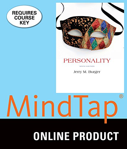 MindTap Psychology for Burger's Personality, 9th Edition by Cengage Learning