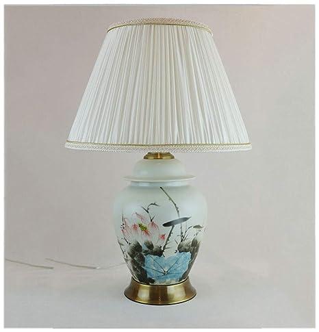 HW.Q Lámpara de Mesa, luz de Noche de Estudio, Pintada a ...