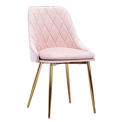 Amazon.com: Silla de manicura/silla de comedor, cojín de ...