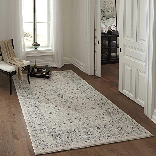 Momeni Rugs ZIEGLZE-07IVY5376 Ziegler Collection, Traditional Area Rug, 5'3