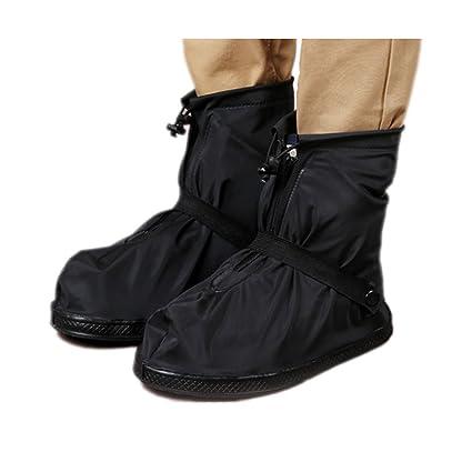 Amazoncom Waterproof Shoe Covers Women Men Reusable Anti Slip