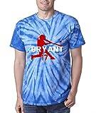 """Silo Shirts TIE DIE Royal Bryant Chicago """"Air Home Run"""" T-Shirt"""