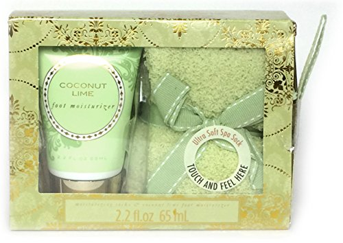 Cozy Sock Lotion Gift Coconut product image