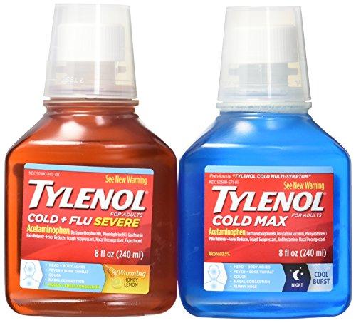 Tylenol Cold + Flu Day Night Liquid Pack