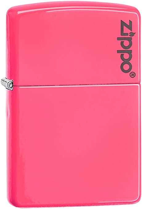Zippo Neon Pink Mechero, Metal, Rosa, 3.5x1x5.5 cm: Amazon.es: Hogar