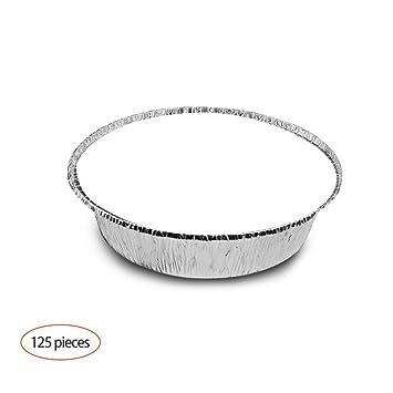 ZZYQ Desechables Papel De Aluminio para Horno,Recipiente De Papel ...