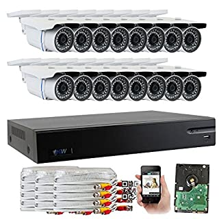 Gw security camera system 16 channel do it yourselfore gw security 16 channel hd ahdtvi dvr complete security system with solutioingenieria Images