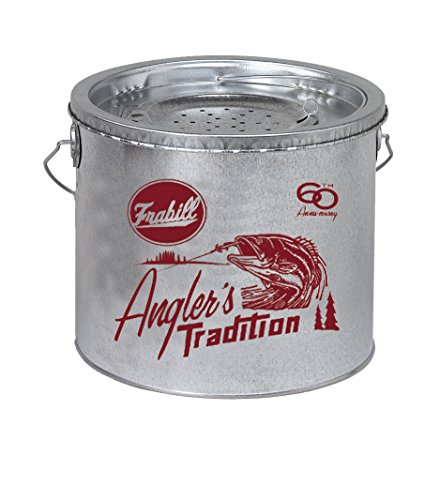 Frabill Galvanized Floating Bucket (2-Piece), - Bucket 8 Bait Quart