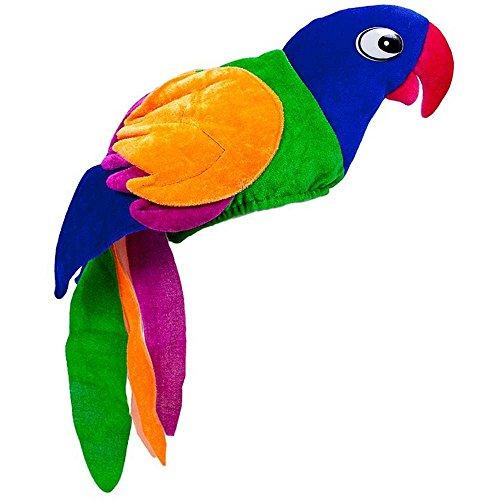 Original Velvet Parrot Hat - One Size
