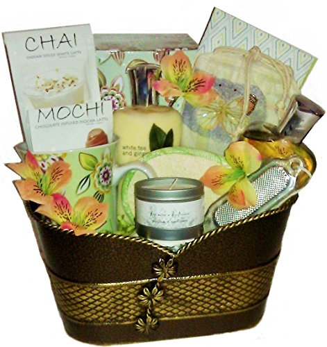 For the Mind, Body & Soul - Bath and Tea Basket