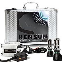 55w Kensun HID Xenon Conversion Kit All Bulb Sizes and Colors with Digital Ballasts - H4 (HB2) (9003) Bi-Xenon - 6000k by Kensun