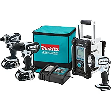 Makita CT400RW  18V Compact Combo Kit, 4-Piece