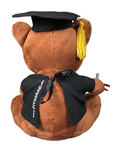[해외]FIT4GRAD 졸업 곰 및 키 체인/FIT4GRAD Graduation Bear and Keychain