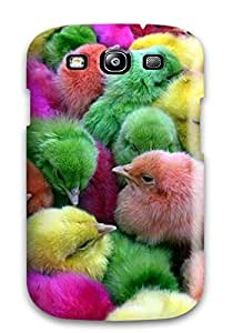 New Tpu Hard Case Premium Galaxy S3 Skin Case Cover(easter Chicks)