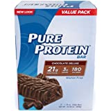 Pure Protein Chocolate Deluxe Value Pack,6 Count 50 Gram Bars (Pack of 2) by Pure Protein