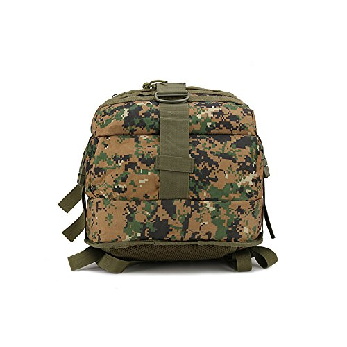 nykkola nykkola Militär Rucksäcke Tactical MOLLE Rucksack Gear Assault Pack Camping Wandern Reisen Tasche