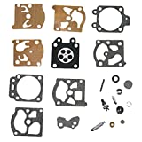 HIPA Carburetor Rebuild Kit K20-WAT for Walbro Carb Echo Homelite Husqvarna Chainsaw String Trimmer