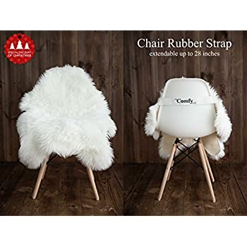My Comfy Zone Silky Faux Sheepskin Chair Cover/ Rug /Seat Pad/ Area Rugs