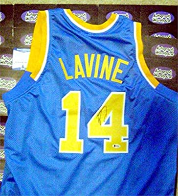 timeless design aead0 672cb Zach Lavine autographed Basketball Jersey (UCLA Bruins) at ...