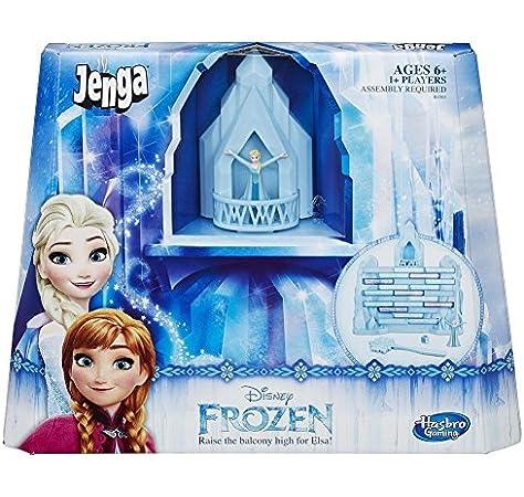 Hasbro Gaming - Juego de Habilidad Jenga Frozen (B4503175): Amazon.es: Juguetes y juegos