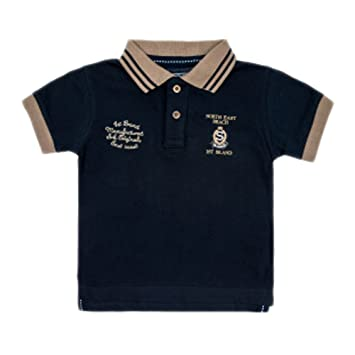 f4d23307d2825 SRK-Polo manches courtes garçon 10/16 ans ECEMOCK1016- marine-10 ans