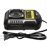 Mrupoo Li-Ion Battery Charger 12V/14.4V/20V MAX for Dewalt Lithium Ion Slide Battery Pack DCB105 DCB101 DCB107 DCB180 DCB200