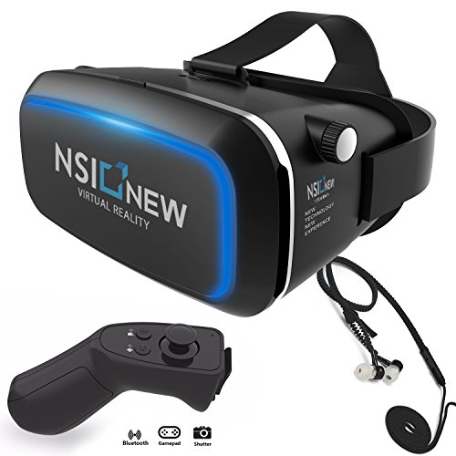 Colour Black vr headset aut product image