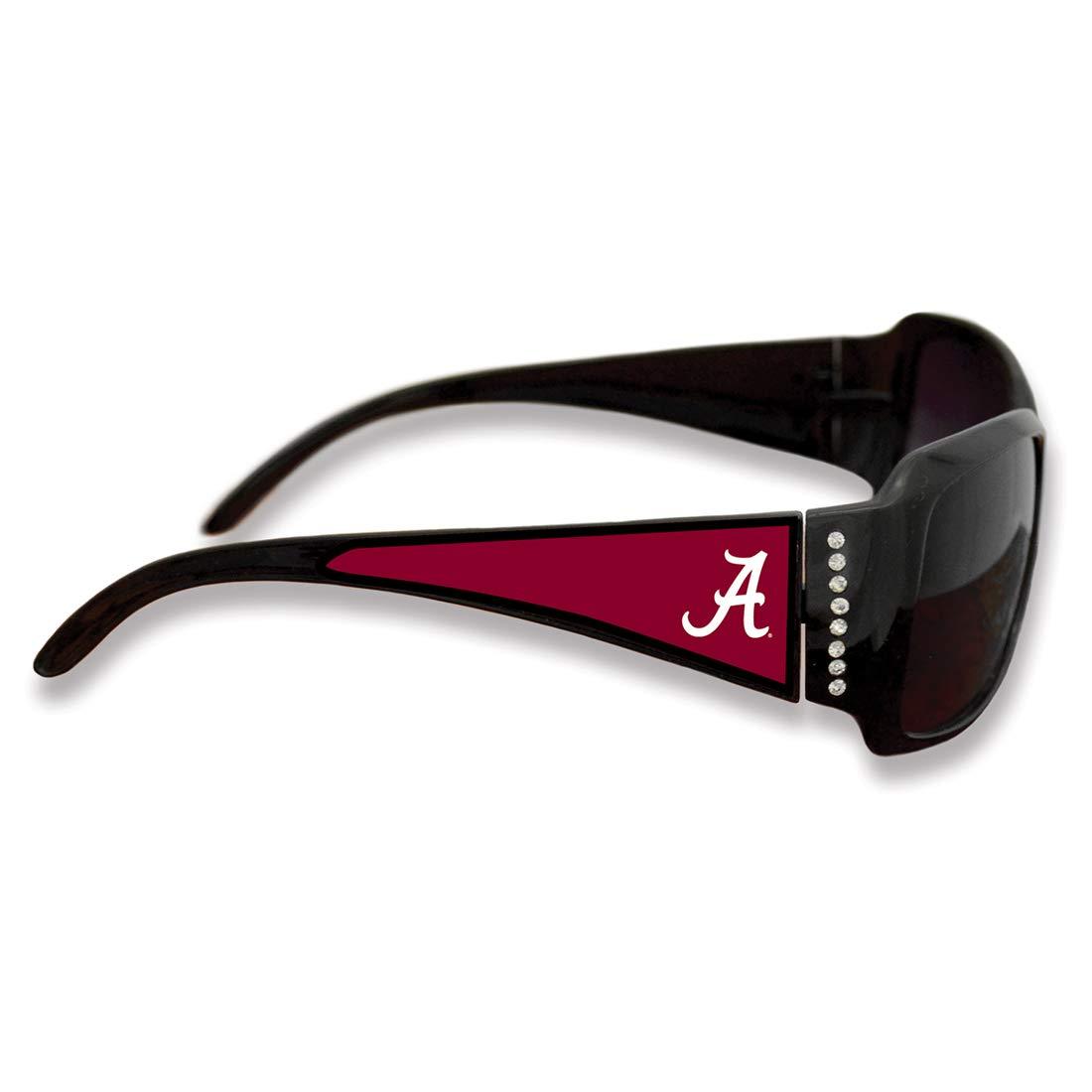 FTH Alabama Crimson Tide Black Ladies Fashion Sunglasses Arm Logo