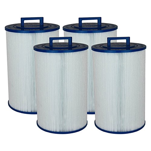 Spa Filter Diamante Spas - PUST80-F2M 8CH-852 FC-0518 Diamante Spas Comparable Pool & Spa Filter PAS-1553 by Tier1 (4-Pack)