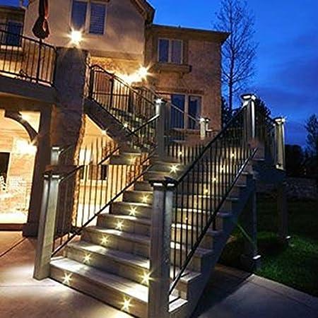 FVTLED 10er Set LED Einbaustrahler DC12V /Ø35mm 0.6W LED Boden Licht IP67 Wasserdicht Einbauleuchten Au/ßen Terrasse K/üche Garten Led Lampe