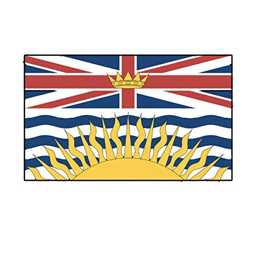 Bc Sticker - Morgan Graphics British Columbia Flag Sticker Decal Vinyl Canada bc Province Vinyl Decal Sticker Car Waterproof Car Decal Bumper Sticker 5