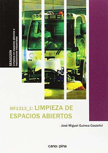 Descargar Libro Mf1313 Limpieza De Espacios Abiertos José Miguel Guinea Castellví