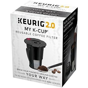 Keurig 119076 Keurig 2.0 My K-Cup, Small, Black (Old Model - Discontinued)