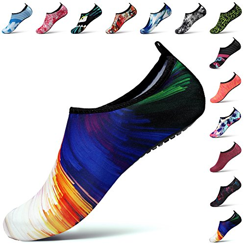 STEELEMENT. Water Shoes Yoga Shoes for Men Women Barefoot Aqua Shoes Socks Swim Surfing Beach Shoes Ws38
