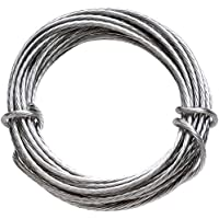 HangZ 80050 Coated Stainless Steel Gallery Wire for Hanging Pictures, 50lb, 9-Foot (#.1-Pack (50lb))